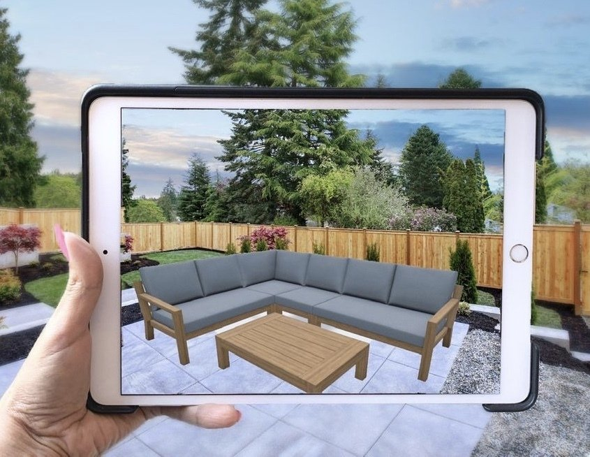 MODERN STYLE OUTDOOR FURNITURE AUCKLAND LAUNCHES AUGMENTED REALITY WEBSITE